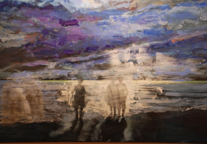 Night Swimmers III by Eva McCauley