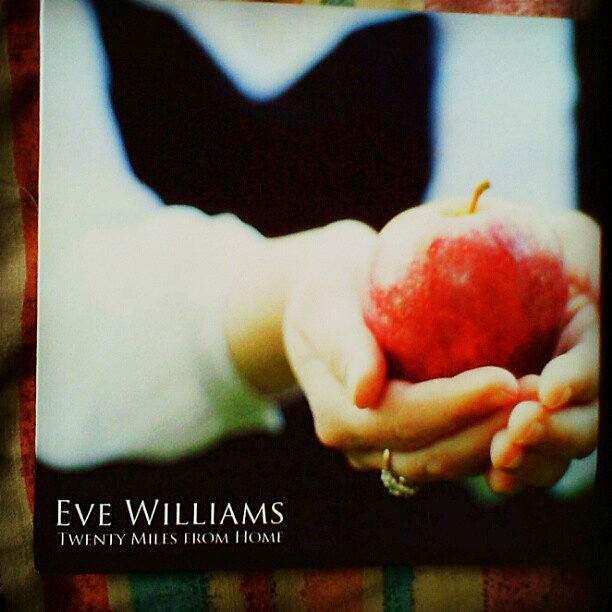 New CD from UK based singer/songwriter Eve Williams