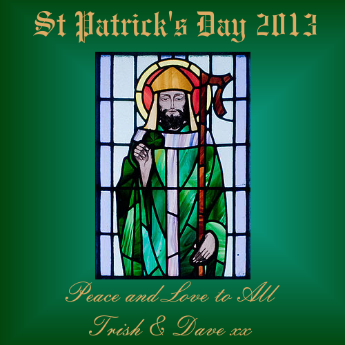 Wishing everyone a Happy St. Patrick's Day! Sahara
