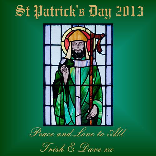Wishing everyone a Happy St. Patrick's Day! Sahara