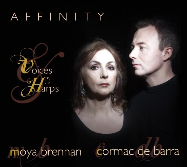 Affinity: Moya Brennan and Cormac DeBarra.