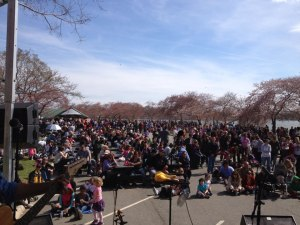 La Unica at National Cherry Blossom Festival.