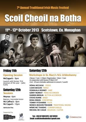 Scoil Cheoil na Botha(7th Annual Traditional Irish Music Festival)