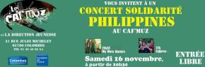 Celtic Music Concert in France  for the Victims of typhoon Haiyan/Yolanda in the Philippines