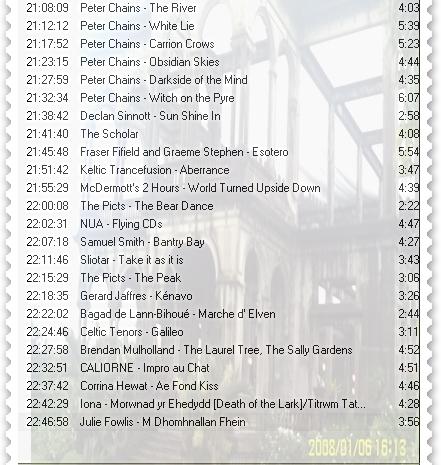 Pre show playlist-crop