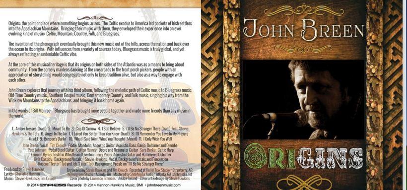 John Breen- Origins CD