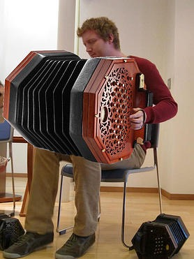 Are you ready for a giant low-low D concertina?