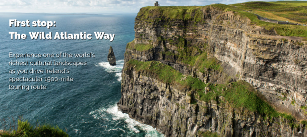 CULTURAL ROADMAPP: IRELAND'S WILD ATLANTIC WAY —A GROUNDBREAKING GPS-ENABLED AUDIO TOUR APP FOR MOTORISTS— TO LAUNCH CROWDFUNDING CAMPAIGN ONINDIEGOGO